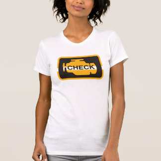 Check Engine Light Womens T-Shirt