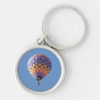 Check-It-Out Hot Air Balloon Keychain