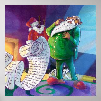 Check it Twice Santa Poster