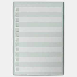 Check List Post-it® Notes