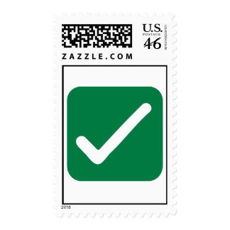 Check mark stamp