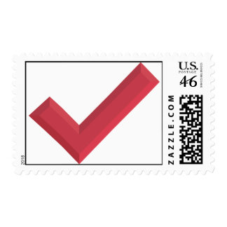 Check-marks make me happy stamp