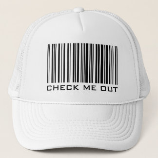 Check Me Out - Barcode Hat