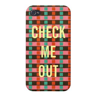 Check Me Out Iphone Case Cover iPhone 4 Cover