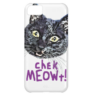Check MEOWt iPhone 5C Cover