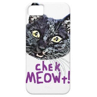 Check MEOWt iPhone SE/5/5s Case
