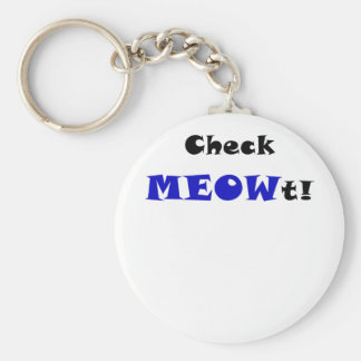 Check Meowt Keychains