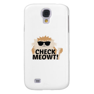 Check Meowt! Samsung Galaxy S4 Cover