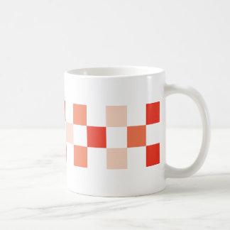 check-orange coffee mug