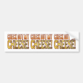 Check Out Blue Cheese Bumper Sticker