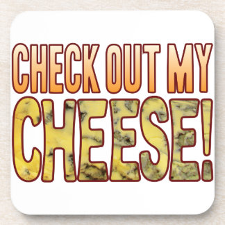 Check Out Blue Cheese Drink Coaster