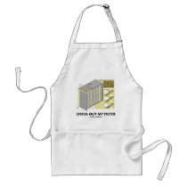 Check Out My Filter (HEPA Filter Attitude) Adult Apron