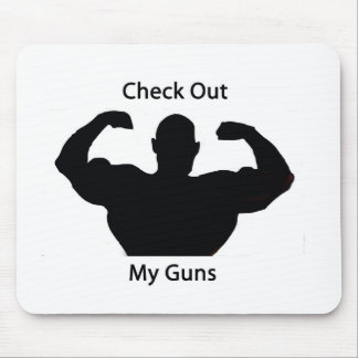 Check out my guns mouse pad