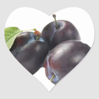 check out my juicy plums.jpg heart sticker