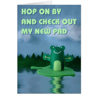 Check Out My New Pad Greeting Cards