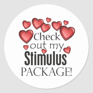 Check out my Stimulus Package Classic Round Sticker