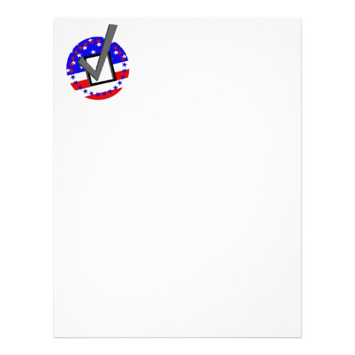 Check out the Candidates - and Vote Letterhead