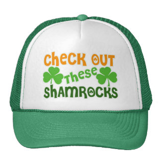 Check Out THESE Shamrocks Trucker Hats