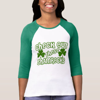 Check Out THESE Shamrocks Tees