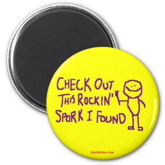 Check Out This Rockin Spork I Found Magnet