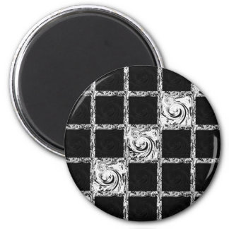 check pattern magnet