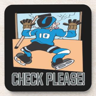 Check Please Coaster