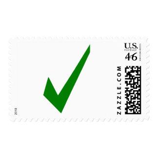Check Postage Stamp
