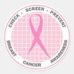 Check-Screen-Prevent - Sticker