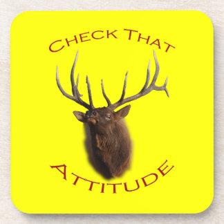 Check That Attitude Coaster