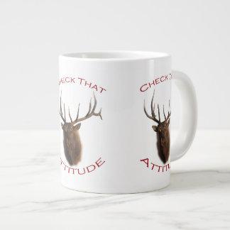 Check That Attitude Giant Coffee Mug