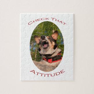 Check That Attitude Jigsaw Puzzle