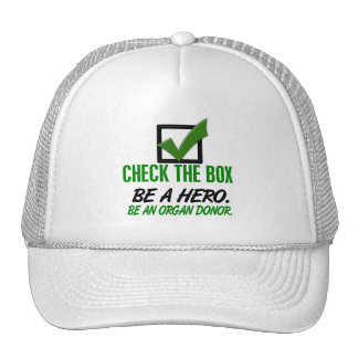 Check The Box Be An Organ Donor 1 Trucker Hat
