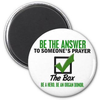 Check The Box Be An Organ Donor 3 Refrigerator Magnets