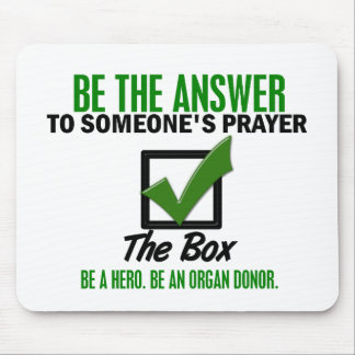 Check The Box Be An Organ Donor 3 Mouse Pad