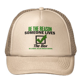 Check The Box Be An Organ Donor 4 Trucker Hat