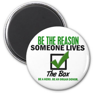 Check The Box Be An Organ Donor 4 Magnets
