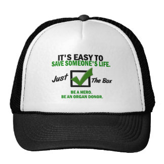 Check The Box Be An Organ Donor 5 Trucker Hat
