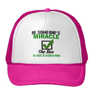Check The Box Be An Organ Donor 6 Trucker Hat
