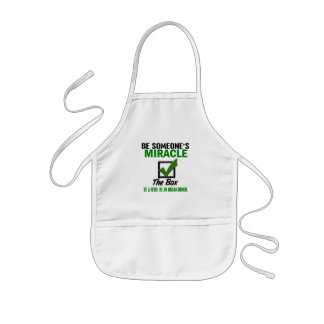 Check The Box Be An Organ Donor 6 Kids' Apron
