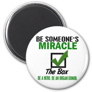 Check The Box Be An Organ Donor 6 Refrigerator Magnets