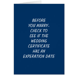 CHECK THE EXPERATION DATE-1st WEDDING ANNIVERSARY Card