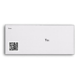Check this QR code Envelope