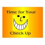 Check Up Reminder Post Card