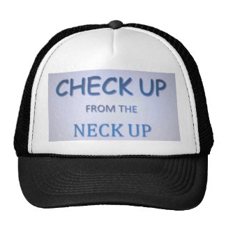 Check Up Trucker Hat
