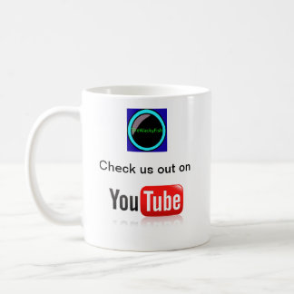 check us out on youtube mug