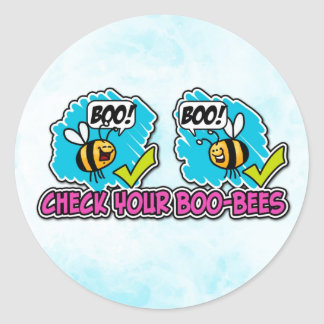 Check your Boo-bees stickers