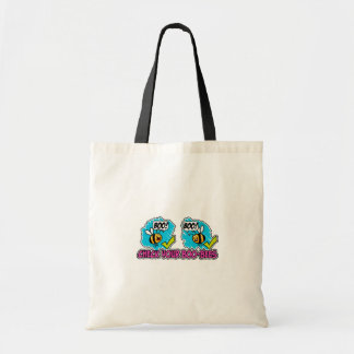 Check your Boo-bees tote bag