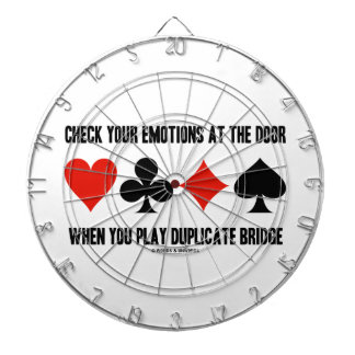 Check Your Emotions At The Door When You Play Dartboard