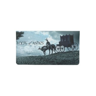 Checkbook Cover, Lady of Ashes Checkbook Cover