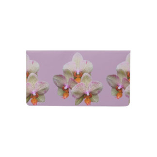 Checkbook Cover - Orchid
